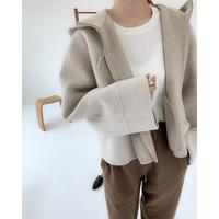 Long sleeve wool tee