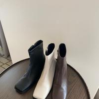 【即納】square boots
