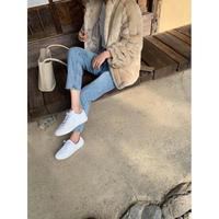 Whiteスニーカー(cow leather)