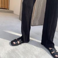 eco leather belt sandals[select/予約]