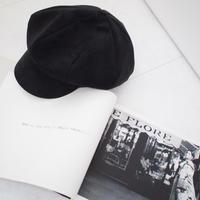 スエードキャスケット【11月中旬〜下旬発送】