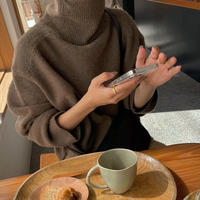 cashmere wool turtle knit