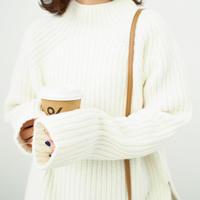 ホワイトビックニット【11月中旬~下旬発送】