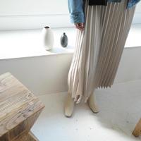 【即納】 wrap pleats sk