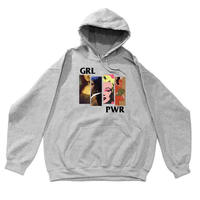 """GIRL POWER"" Hoodie  #Heather"