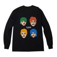 """Apple"""" l/s tee #black"""