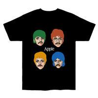 """Apple"""" s/s tee #black"""