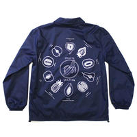 """Fruits"" Coach jacket #Navy - by SHUNTAROU TAKEUCHI × RYUHEI KOBOSHI"