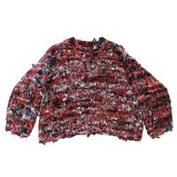 Re: Flannnel - Crew neck pullover knit  #003  by old park × NuGgETS