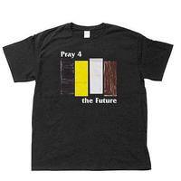 "[charity]  ""4 Pray the future"" s/s tee  #Black"