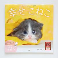 ましかく子猫カレンダー『幸せこねこ』(壁掛けカレンダー)