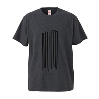"NUITO Tee ""NOISE"" [Heather Black]"