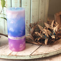 Okinawa colour big candle