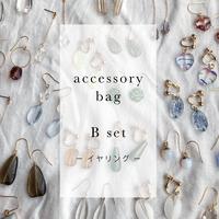 イヤリング | accessory bag B set 3ペア