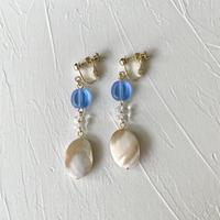 イヤリング|blue & shell