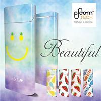 【全面対応フルカスタム!】Ploom TECH プルームテック5  【選べる5デザイン】専用スキンシール 裏表2枚セット