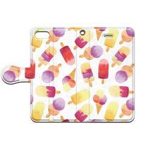 No.INFINITE ice cream by maw 手帳型スマホケース 対応機種(iPhone/アンドロイド機種)