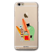 SHAG(シャグ) iPhone6/6s Surfmonsters 2 クリア ハード スマホケース