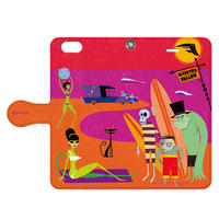 SHAG(シャグ) iPhone6/6s Surfmonsters 2 手帳型スマホケース