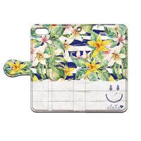 No.INFINITE Flower Smile #3  by maw 手帳型スマホケース 対応機種(iPhone/アンドロイド機種)