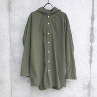 【FIRMUM】ナイロンタッサーフードシャツ
