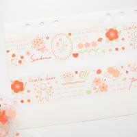イラスト マスキングテープ cherry blossom [CT151]