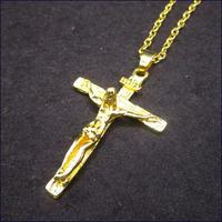ロザリオ 十字架ネックレス U0141