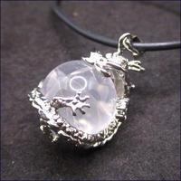 ドラゴンパワーストーンネックレス(水晶)U0074