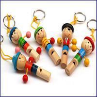 木製おもちゃホイッスル(笛)U0005