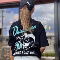 【京都大作戦】DAISAKUSEN COFFEEROASTERS BIG TEE!!! ※ステッカー封入