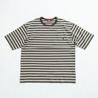 nuttyclothing  / Multi Border Pocket T-Shirt  Olive