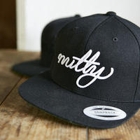 nutty clothing  /  6PANEL SNAP BACK
