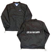 40%OFF! L.I.F.E [ LIVE IN FAB EARTH ]リブインファブアース(ライフ)LFコーチジャケット ブラック