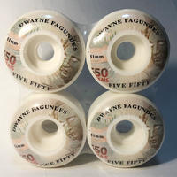 5-50WHEELS(FIVE FIFTY WHEELS)DWAYNE FAGUNDES REAIS 51MM 硬度100A ウィール 550Wheels