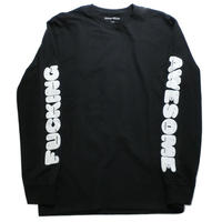 Fucking Awesome ファッキングオーサム FA  L/S Tee ブラック ロンT