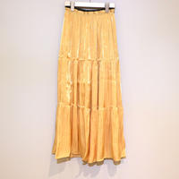tranoi ティアードスカート(yellow)
