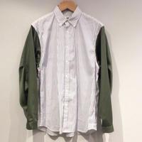 HBNS モッズスリーブシャツ(white)