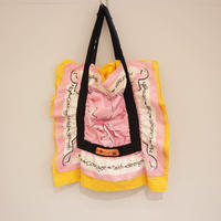rehersall バンダナバッグ pink/yellow