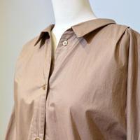 ドルマンスリーブブラウス(lt.brown)