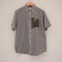 HBNS チェックBD半袖シャツ(XLサイズ)