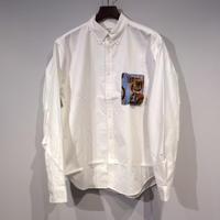HBNS ミリタリーポケットOXシャツ(XLサイズ)