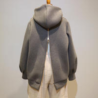 FUHAM 後ろzipフーディ(gray)