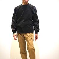 HBNS スカジャン袖カットソー(black)