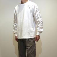 HBNS スカジャン袖カットソー(white)