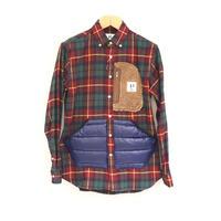 HBNS アウトドアポケットシャツ(burgundy)