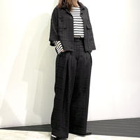 tranoi ショートジャケット ( ブラック )