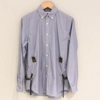 HBNS ミリタリーシャツ(sax)