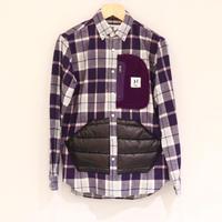 HBNS アウトドアポケットシャツ(purple)