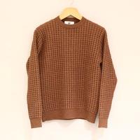 HBNS ワッフルニット(brown)