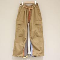 rehersall リメイクスカート(beige②)